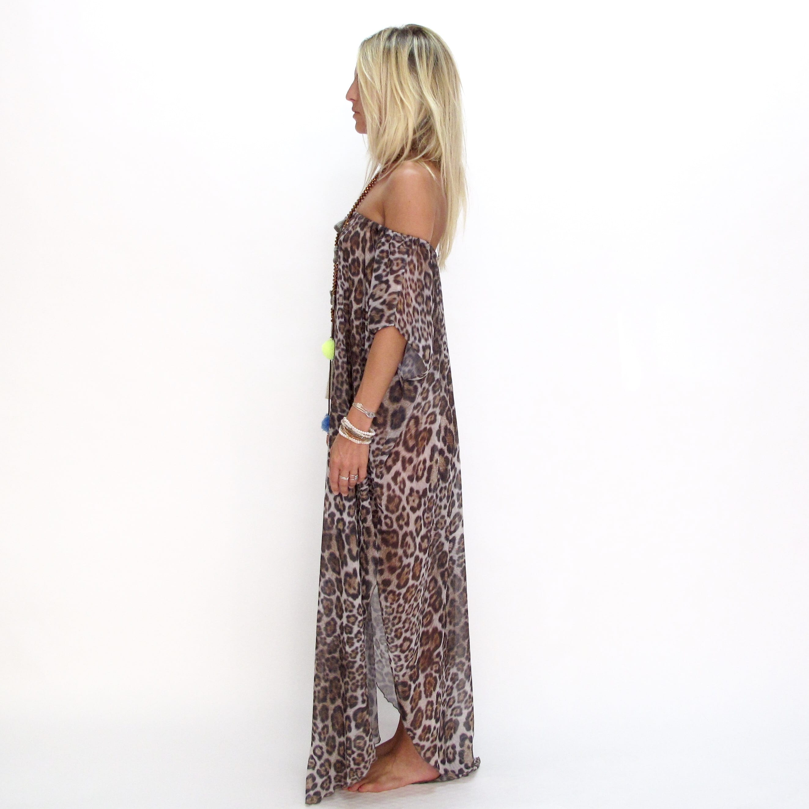 Dress Hollywood print les neobourgeoises resortwear dress boheme robe boheme tunique boheme fashion brand beachwear vetement boheme clothe beachwear clothe resortwear boutique accessoirs boheme
