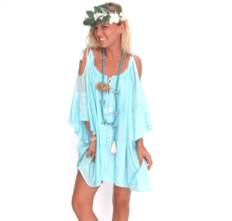 Dress Goa vêtement bohème, clothe beachwear, clothe resortwear