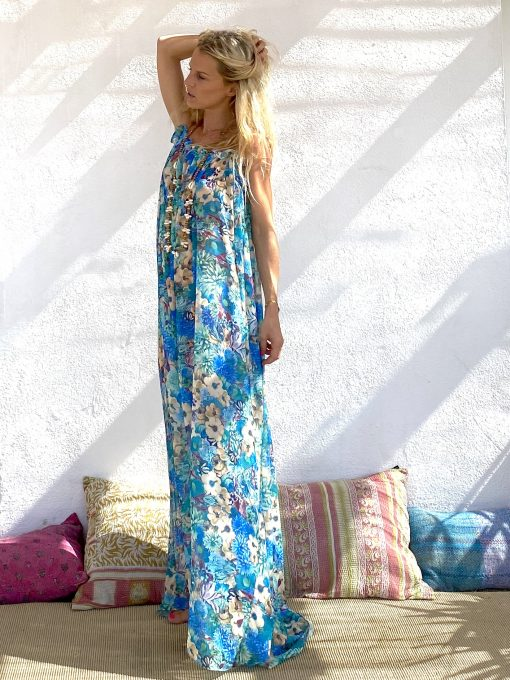 Dress guyane orchide - Les Néobourgeoises - Bohemian chic clothing